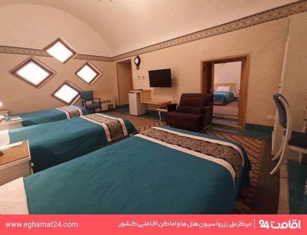 اتاق سه تخته (سه سینگل)
