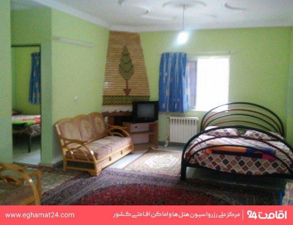 آپارتمان یکخوابه سه نفره همکف