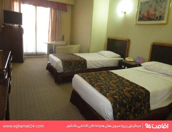 اتاق دو تخته VIP رو به دشت