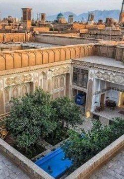 هتل شاه ابوالقاسم يزد