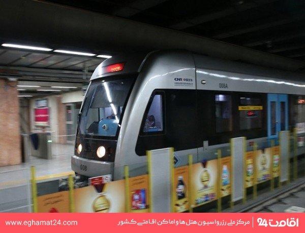 ایستگاه قطار شهری سعدی