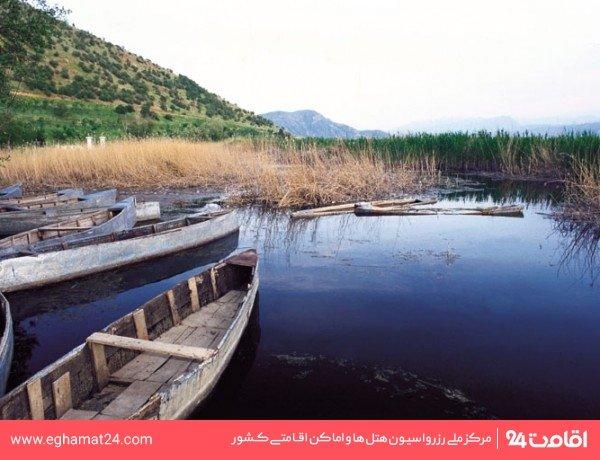 دریاچه سد قشلاق