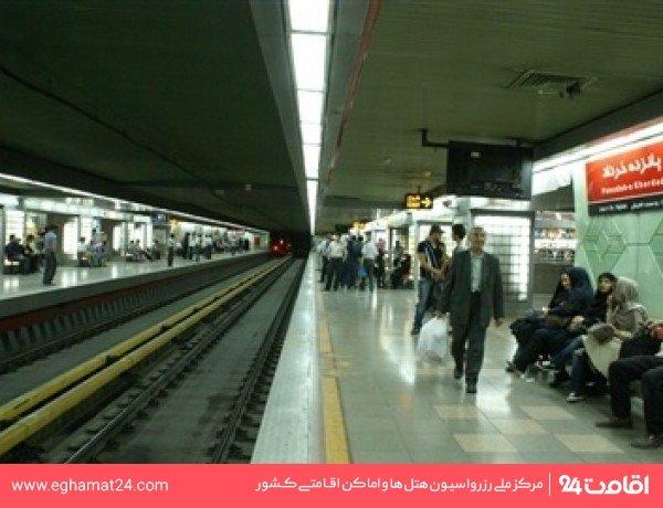 ایستگاه قطار شهری پانزده خرداد