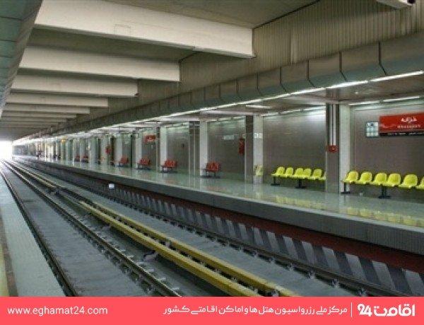 ایستگاه قطار شهری خزانه