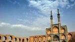 حسینیه و میدان وقت و ساعت و نخل