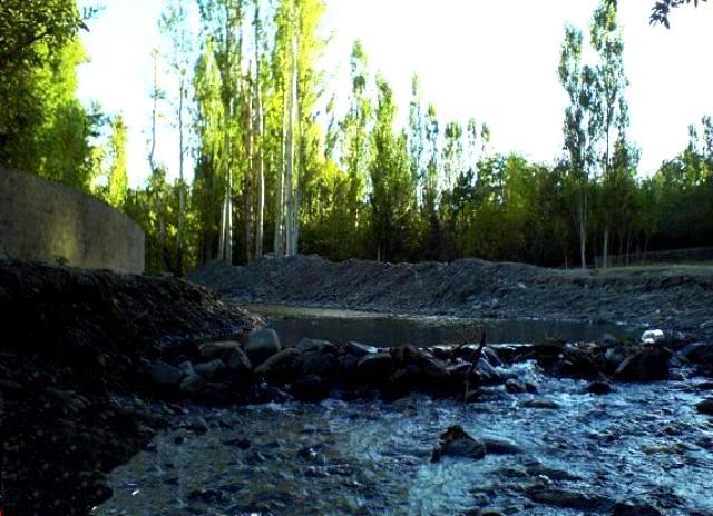 چشمه های روستای زشک مشهد