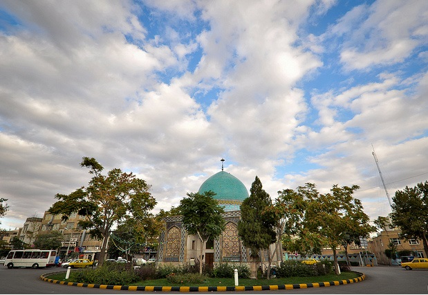 میدان گنبد سبز مشهد