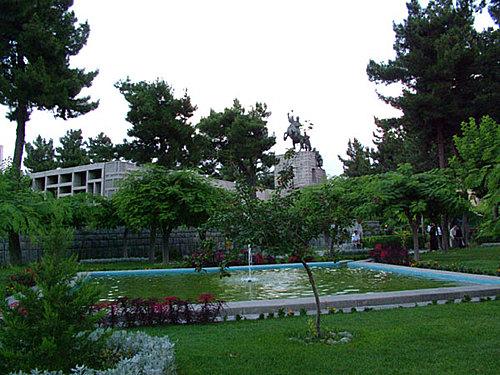 آرامگاه نادری در شهر مشهد