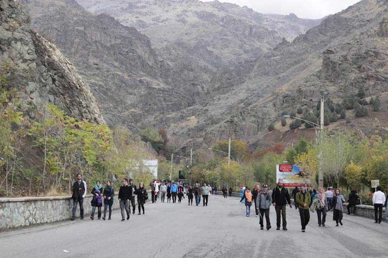 کوه توچال در تهران