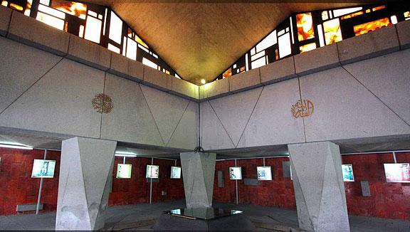 سالن مقبره آرامگاه نادر شاه افشار