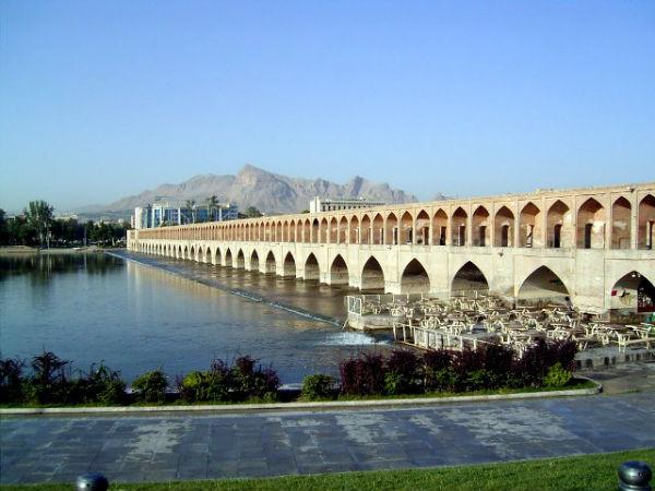 33 پل در شهر اصفهان