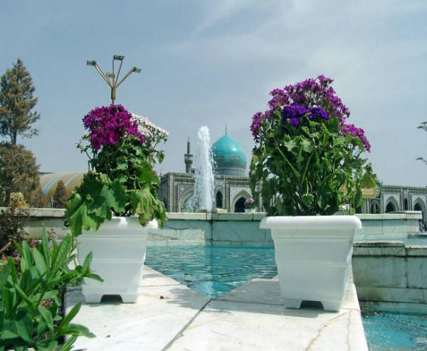 نمایی از مسجد گوهرشاد مشهد