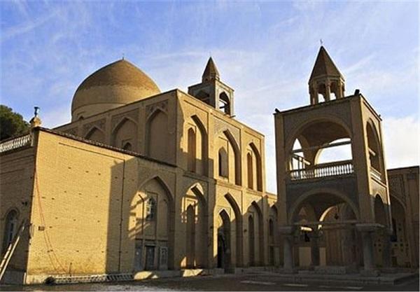 کلیسای وانک : زیباترین کلیسای جلفا اصفهان
