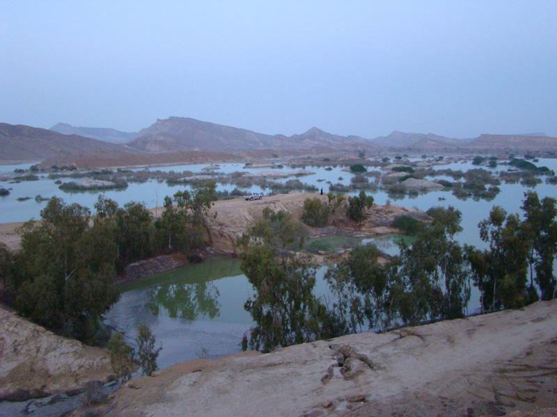 سد دیرستان قشم