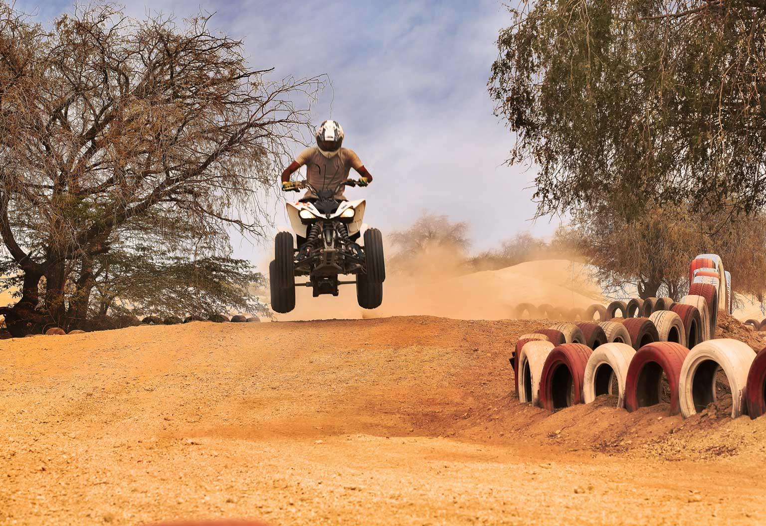پیست سافاری و موتور سواری در قشم