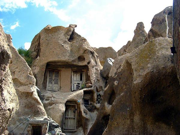 هتل صخره ای لاله کندوان