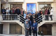 بازدید دانشجویان دانشگاه میراث فرهنگی از دفتر سامانه ملی رزرواسیون اماکن اقامتی کشور