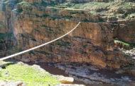 جذابیت از دست رفته/ بلندترین پل معلق خاورمیانه در پلدختر تخریب شد