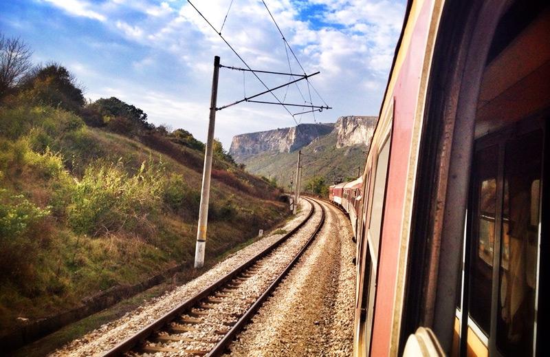 سفر با قطار