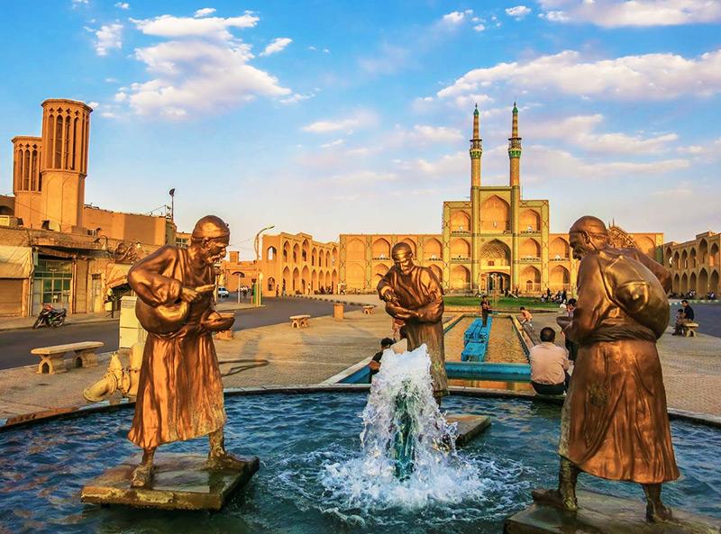 آشنایی با اماکن تاریخی یزد