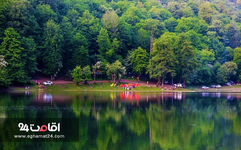 دریاچه چورت استان مازندران