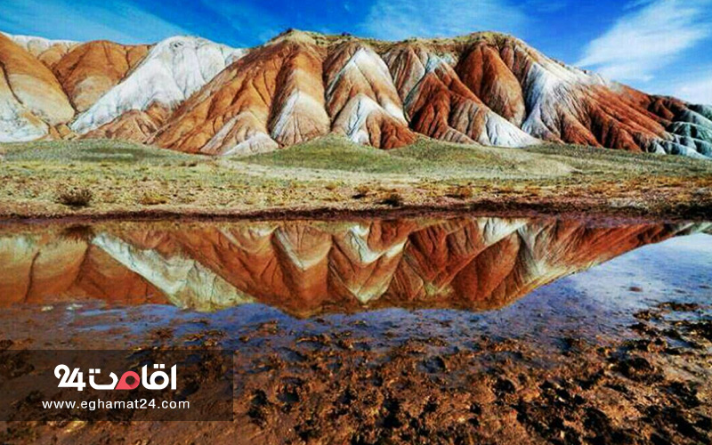 کوه های رنگارنگ آلاداغ لار