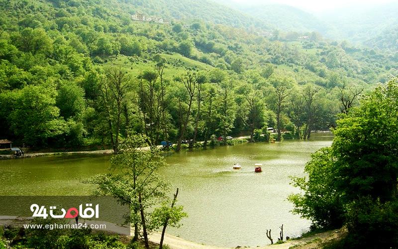 لیست دریاچه های ایران : عکس و آدرس