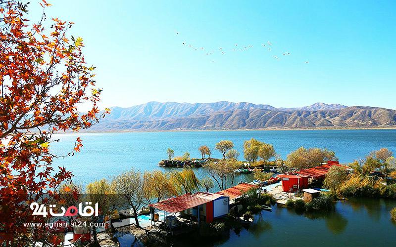 دریاچه زیبای زریبار