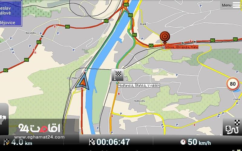 مسیر یاب MapFactor