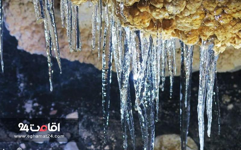 غار یخ مراد گچسر