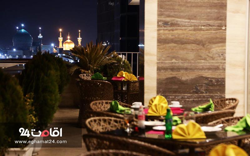 هتل آپارتمان های ارزان قیمت مشهد