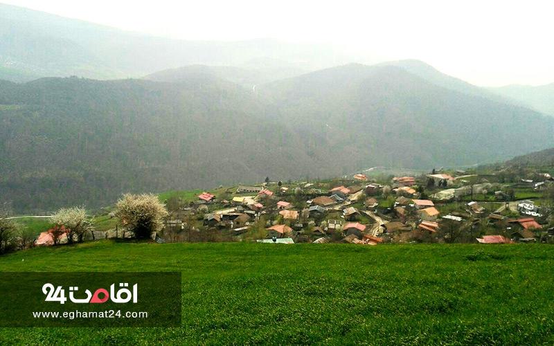 روستاهای نکا