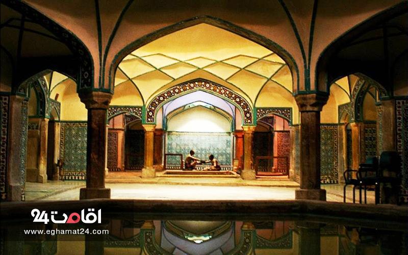 حمام گنجعلی خان کرمان : معرفی و تصاویر