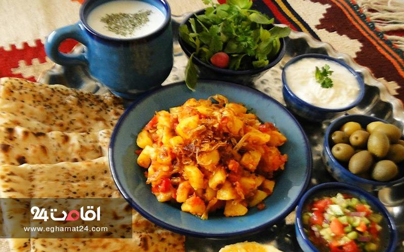 دو پیاز آلوی شیراز