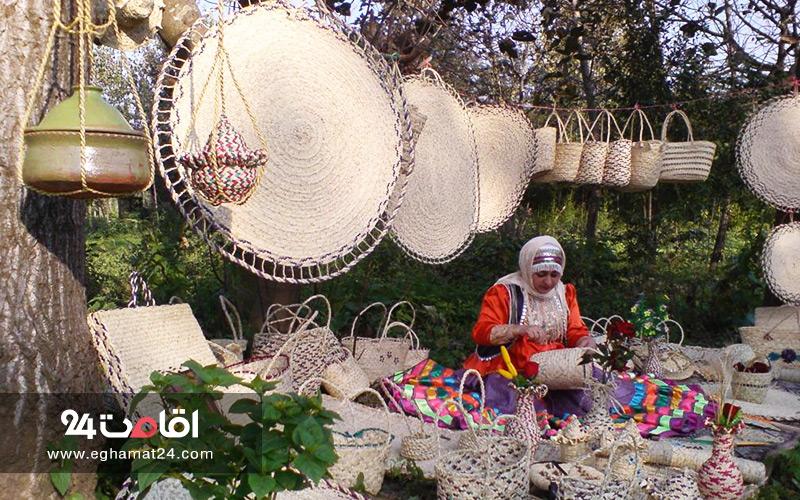 صنایع دستی نوشهر