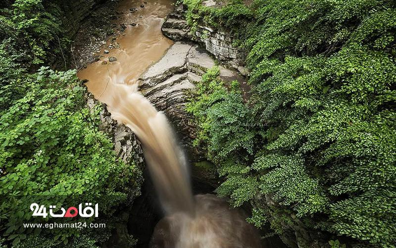آبشار ویسادار : تصاویر و آدرس