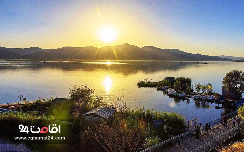 مسیریابی دریاچه زریوار مریوان