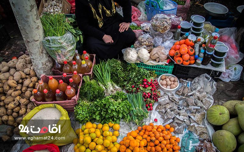 بازار قدیمی و سنتی چالوس