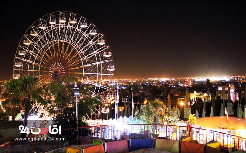 پارک شیراز : معرفی، عکس و آدرس