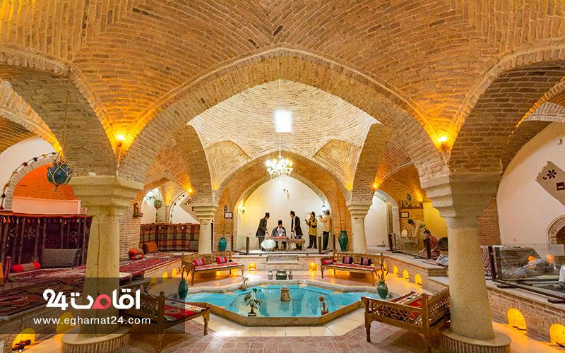 سفره خانه سنتی حمام قلعه