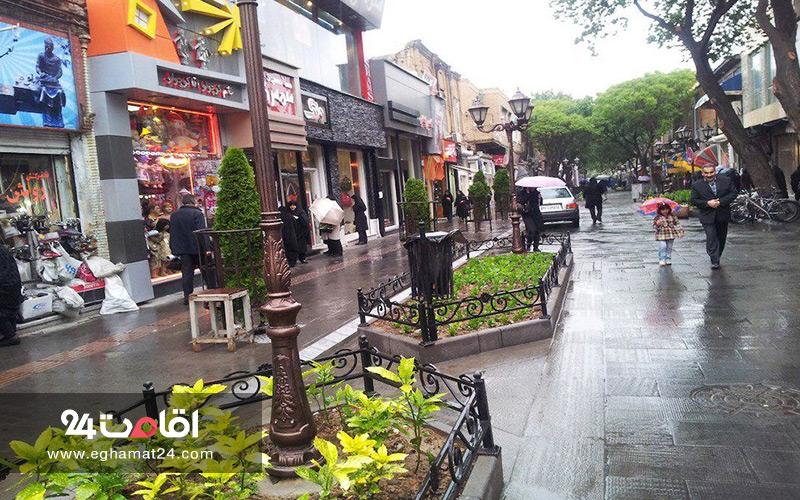 بازار پیاده راه تربیت تبریز