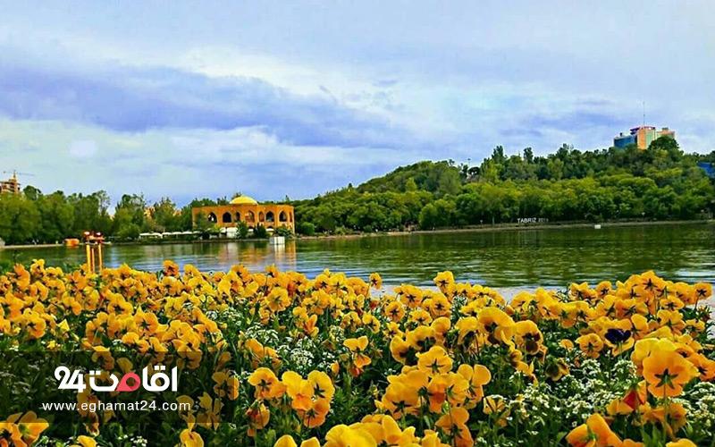 پارک تاریخی تفریحی ائل گلی تبریز