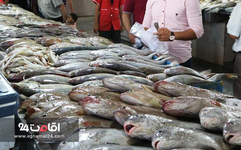 بازار ماهی خلیج فارس اصفهان