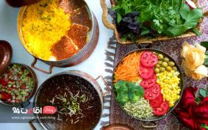 غذای ایرانی خورشت فسنجان