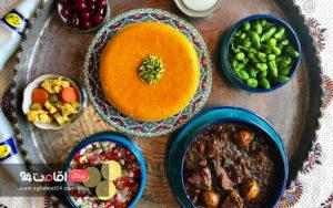 غذای ایرانی خورشت قورمه سبزی