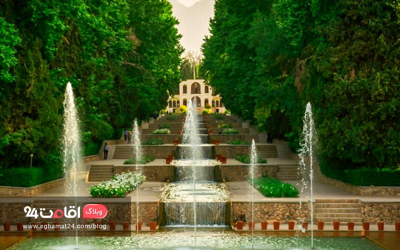باغ شاهزاده ماهان ، نگین انگشتری کویر کرمان