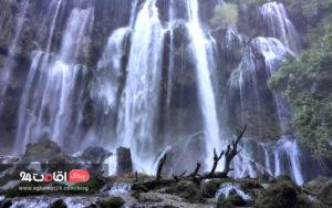 آبشار زرد لیمه