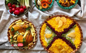 غذای ایرانی زرشک پلو