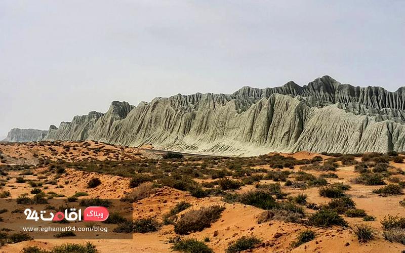 کوه های مینیاتوری چابهار ، پدیده بی مثال طبیعت