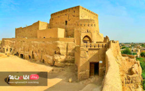 قلعه تاریخی شهر نایین